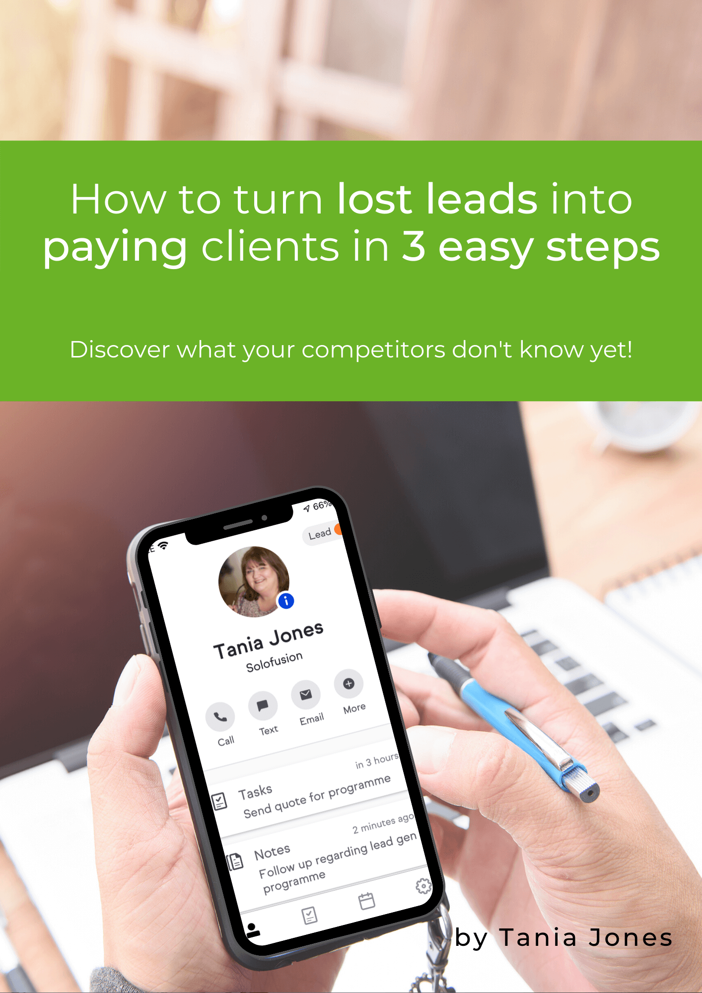 Turn lost leads into paying clients