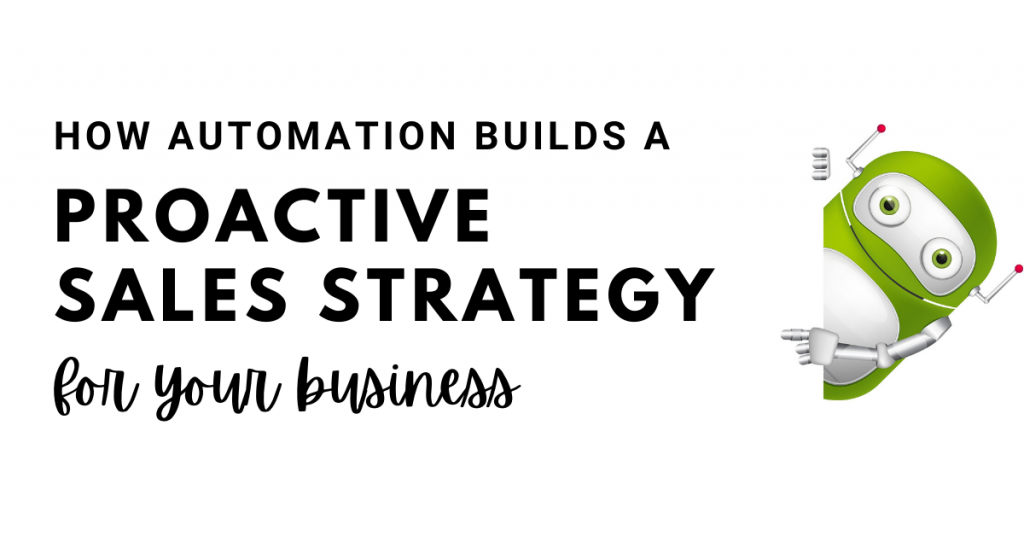 proactive sales strategy