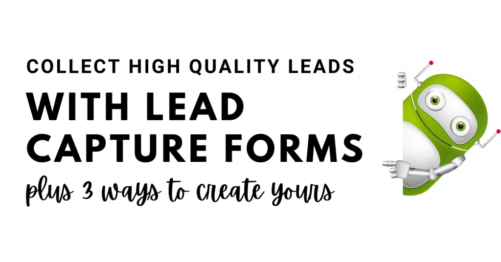 lead capture form