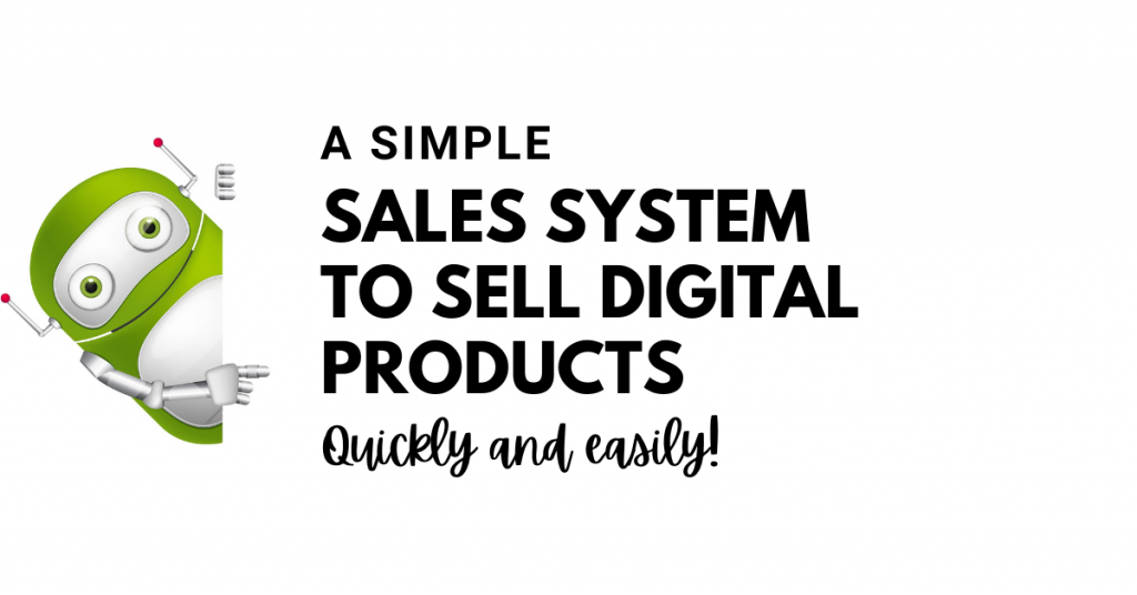 simple sales system